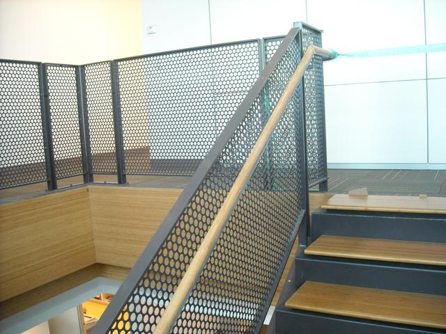 Best Railing Perforated Steel Google Search Glen Park 400 x 300
