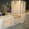 CABINETS BEING BUILT IN THE SHOP